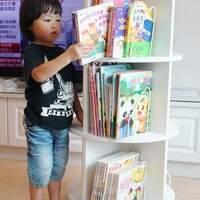 【限时优惠 11/13-11/19】可以放超过300本书的『台湾360度旋转三层书柜』~姚小凤
